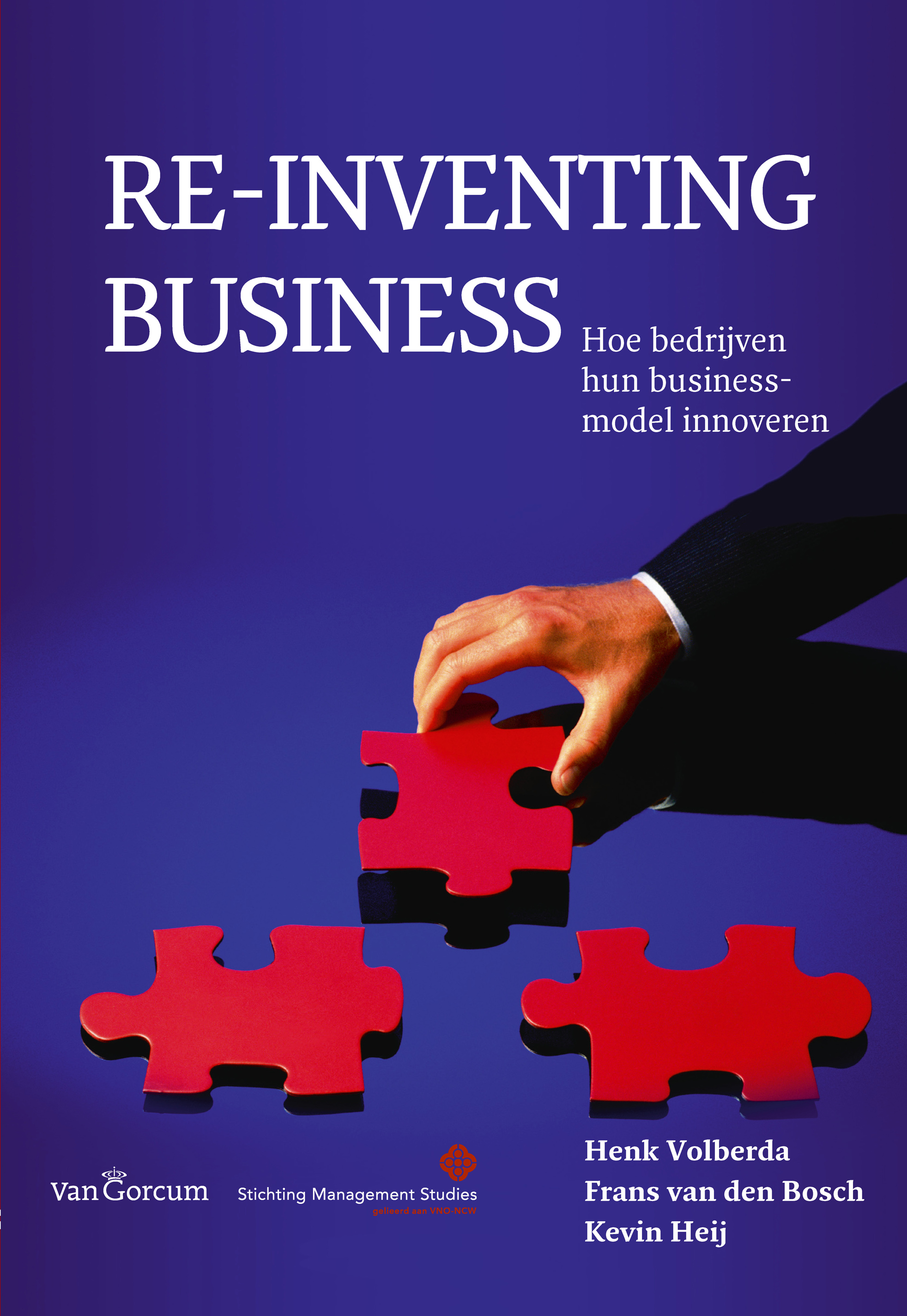 re-inventing business - boek